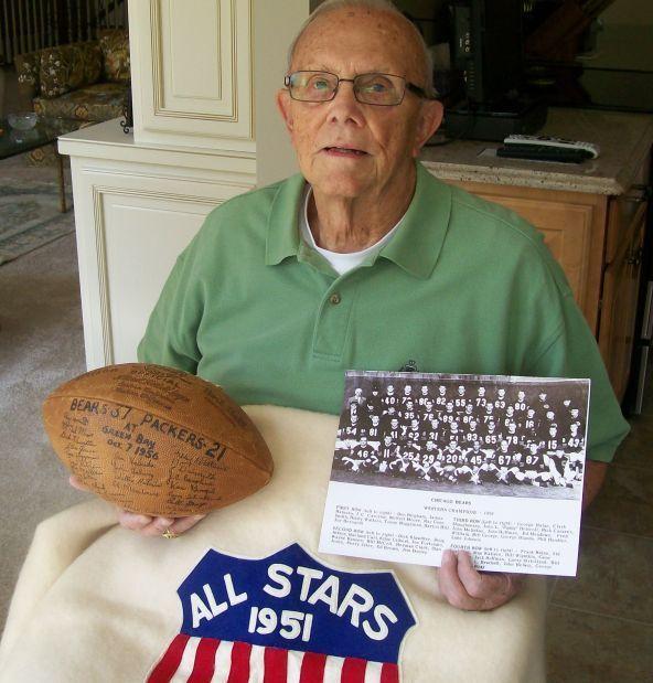 Gene Schroeder, 1951 Bears draft pick