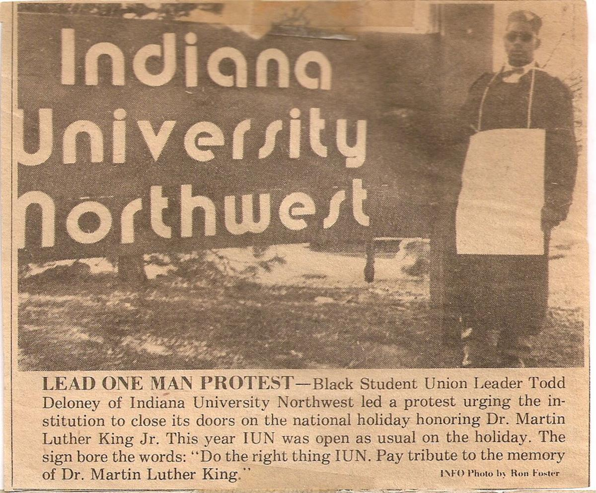 'Keep up the fight': IUN celebrates 50 years of black studies with current, former civil rights student leaders