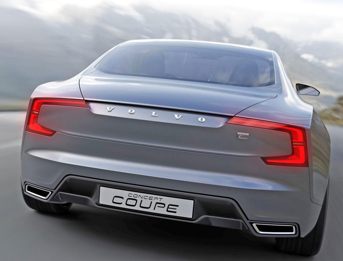Volvo 'Concept Coupe' show car rear