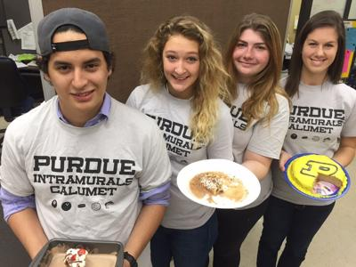 Winners and Finalists for Eighth Annual Purdue University Calumet Intramural Baking Contest