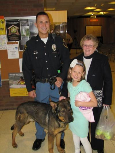 Donation covers cost of new police dog in Michigan City
