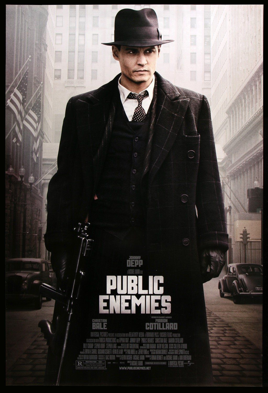Public Enemies Movie Poster