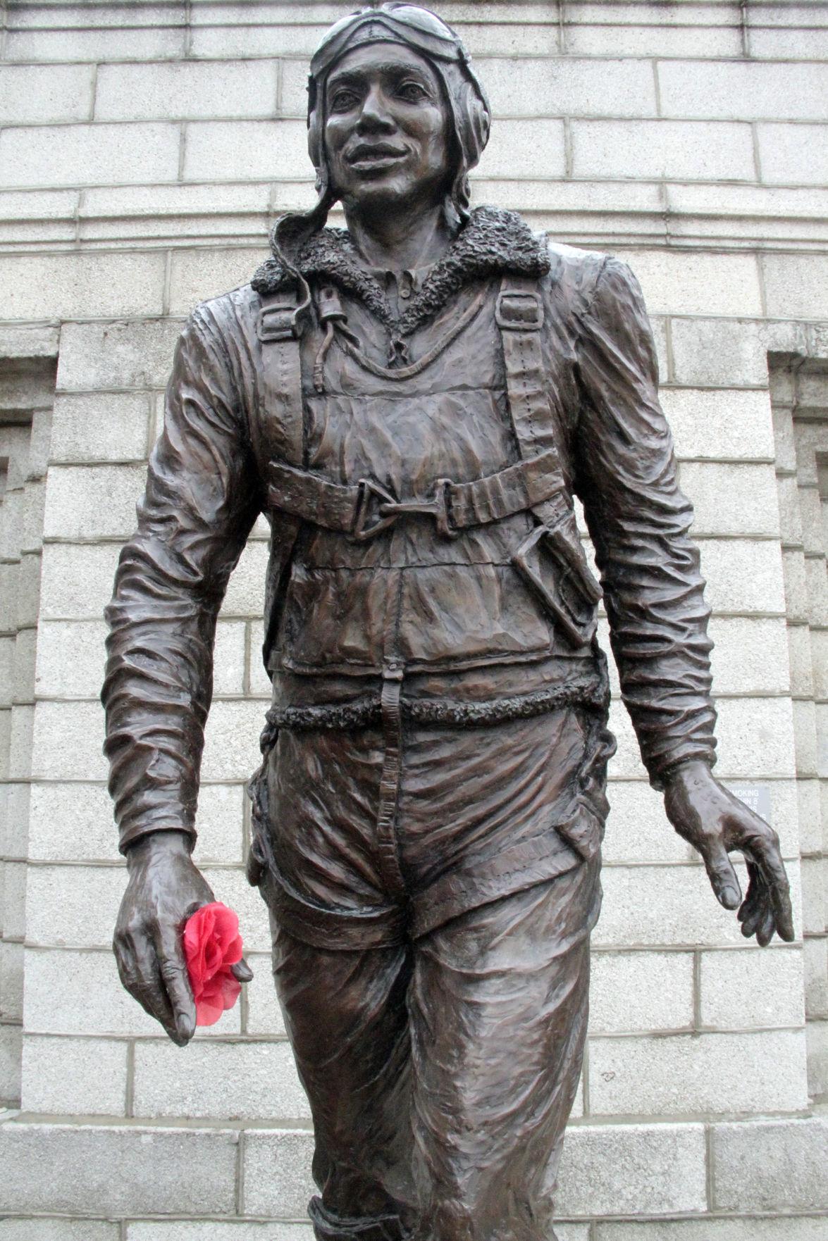 Tuskegee Airman Statue