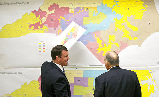 AP analysis shows how gerrymandering benefited GOP in 2016