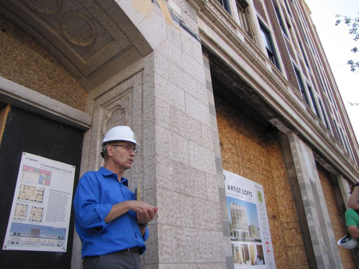 Michigan City artist colony near completion