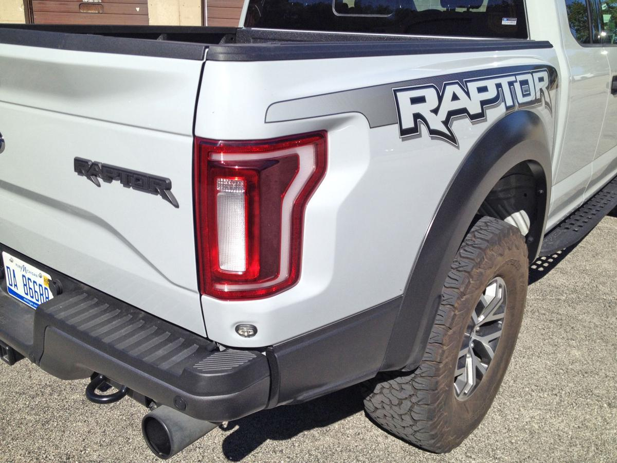 Raptor rear quarter panel