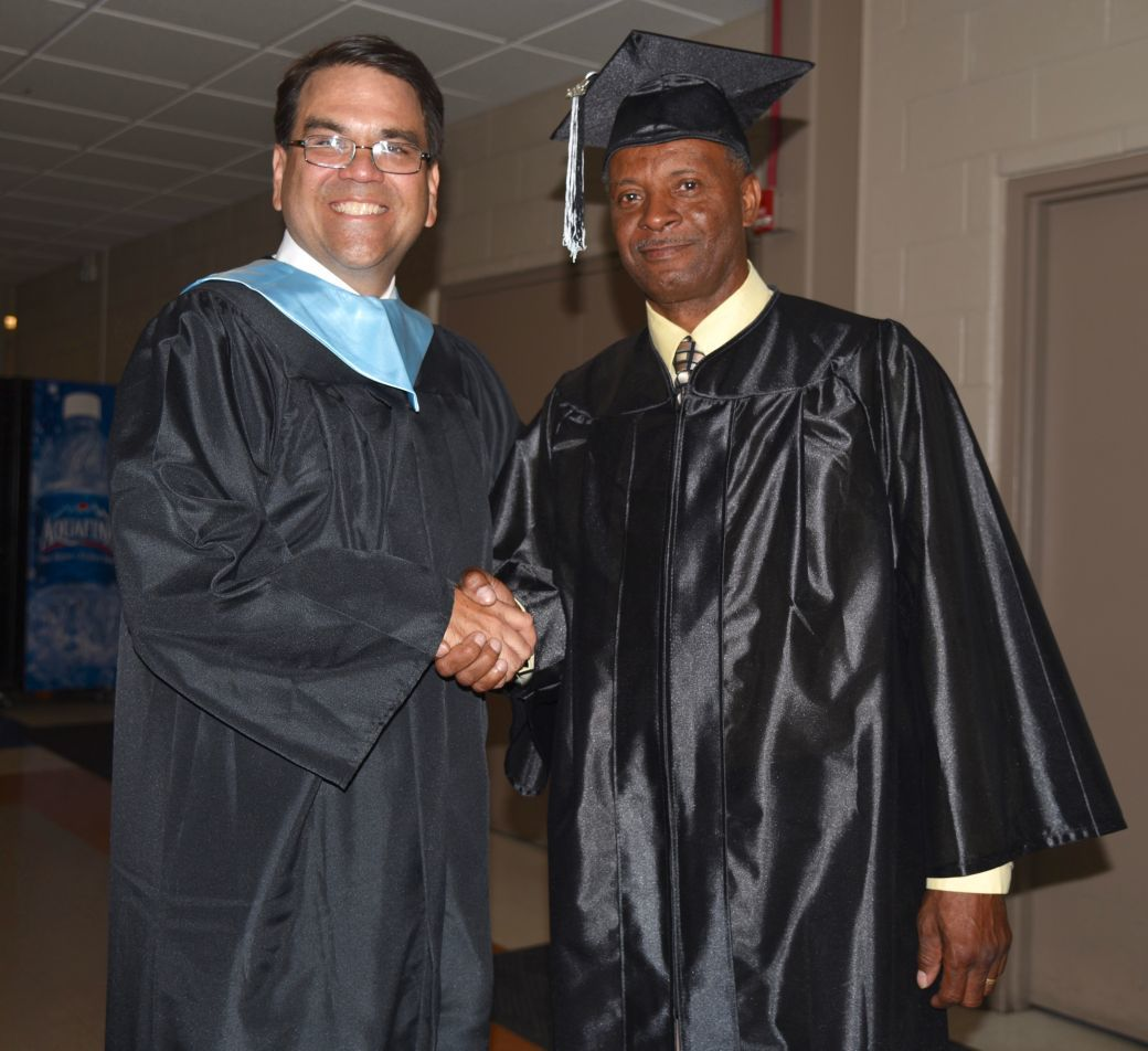 Speaker to Gary Middle graduates: 'Your attitude determines your altitude' (copy)