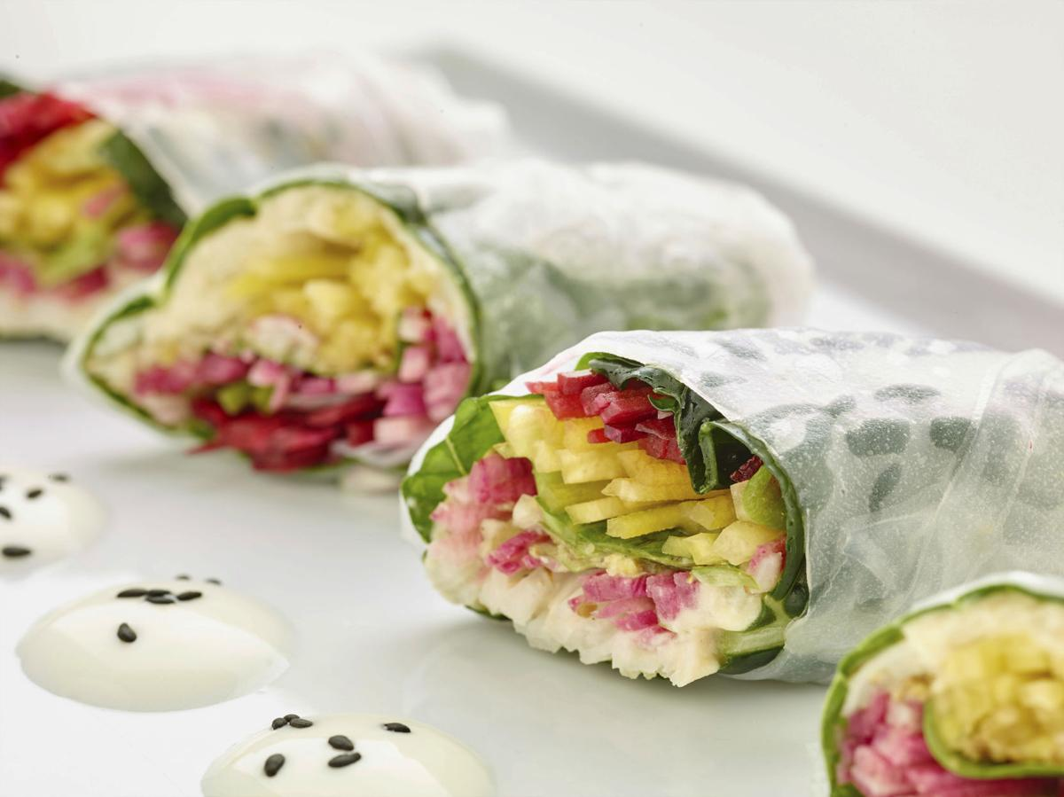 Food Culinary Institute Of America Vegetable Spring Rolls