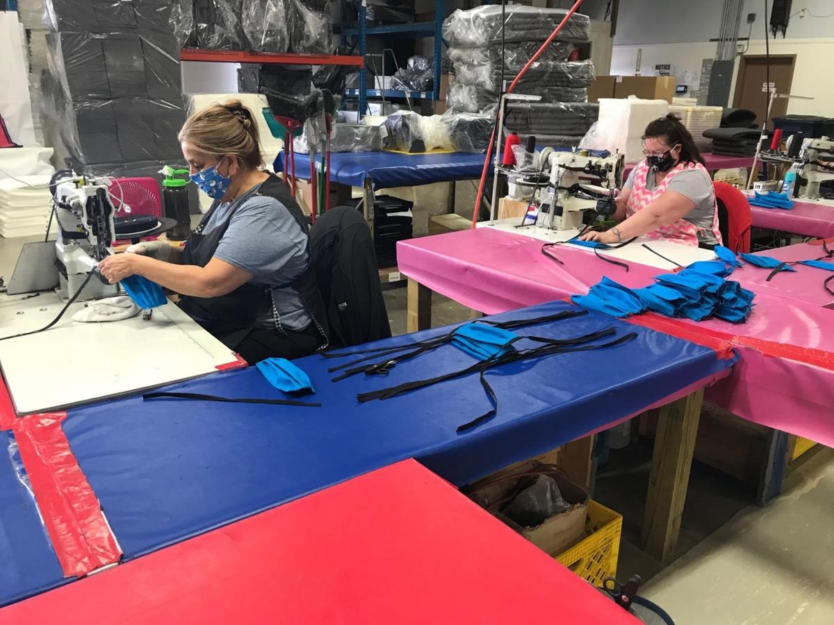 LaPorte factory switches to making thousands of masks for health care workers