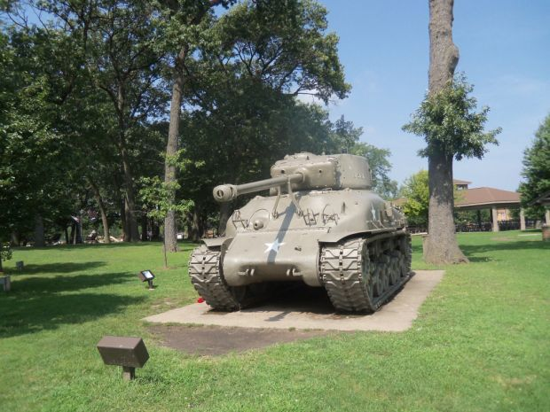 'Christenson family tank' longtime sentinel in Griffith