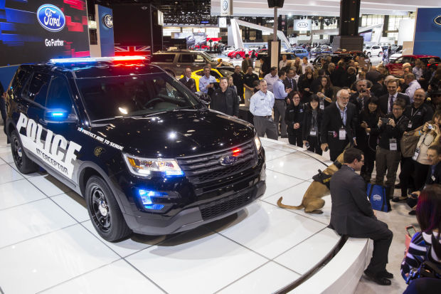 Hegewisch plant makes America's top-selling police vehicle