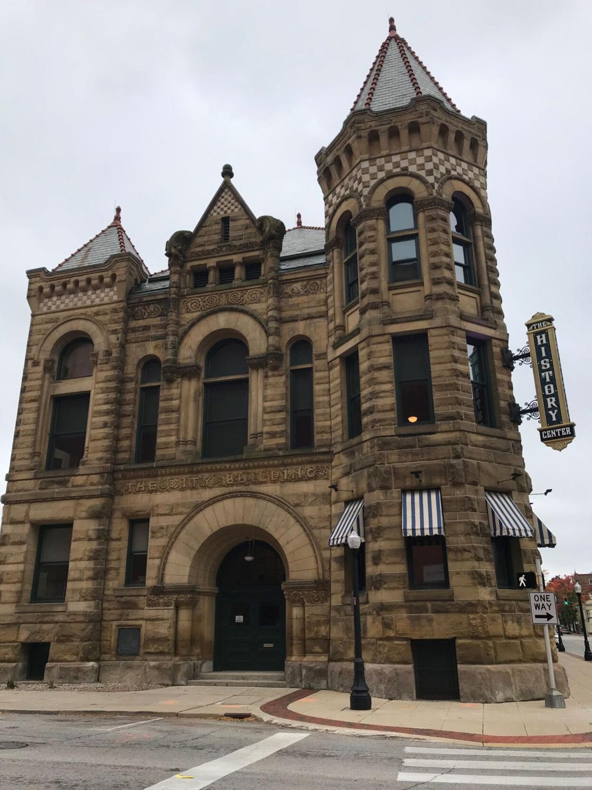 The History Center in downtown Fort Wayne.