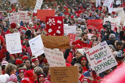 Gallery: Red for Ed Action Day