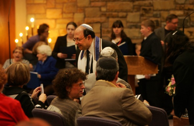 Rabbi Zukrow installed at Temple Beth-El