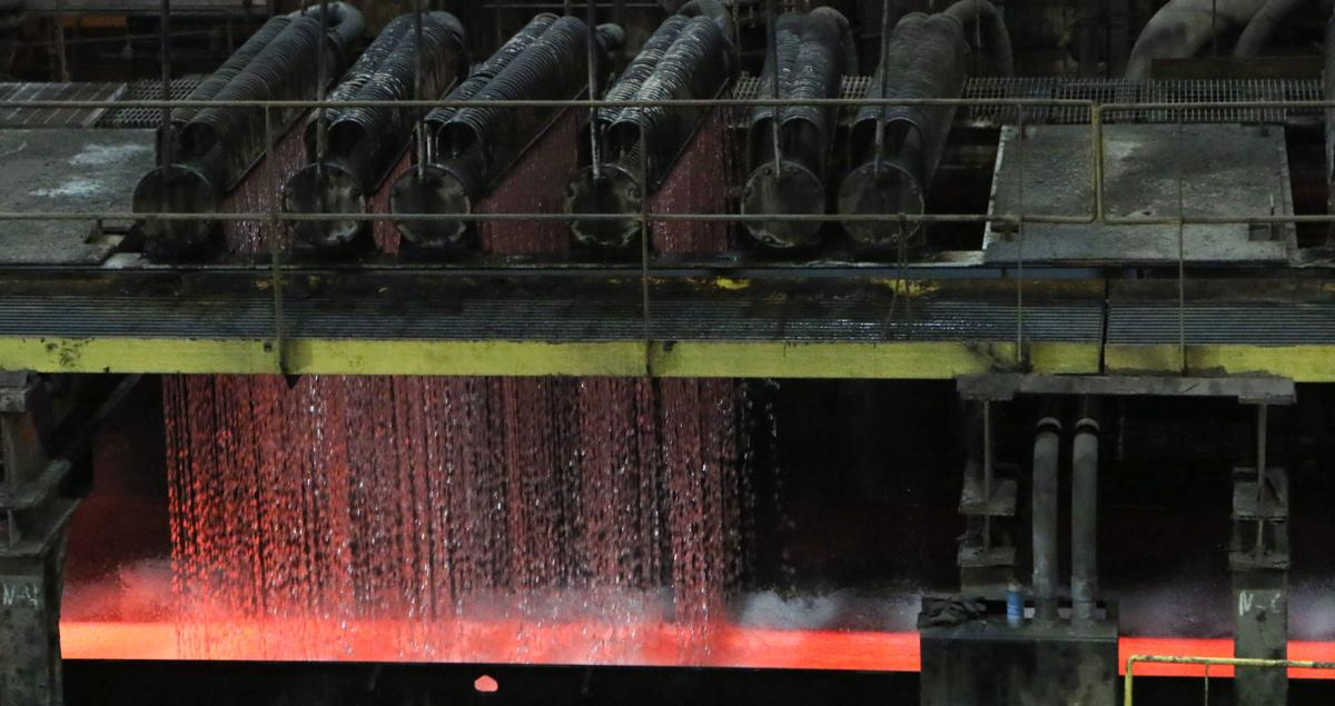 Steel production up 1.9 percent this year