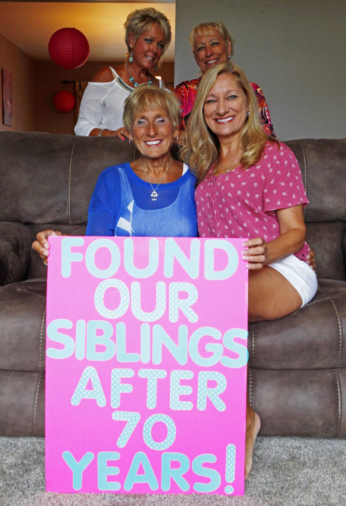 Siblings reunite