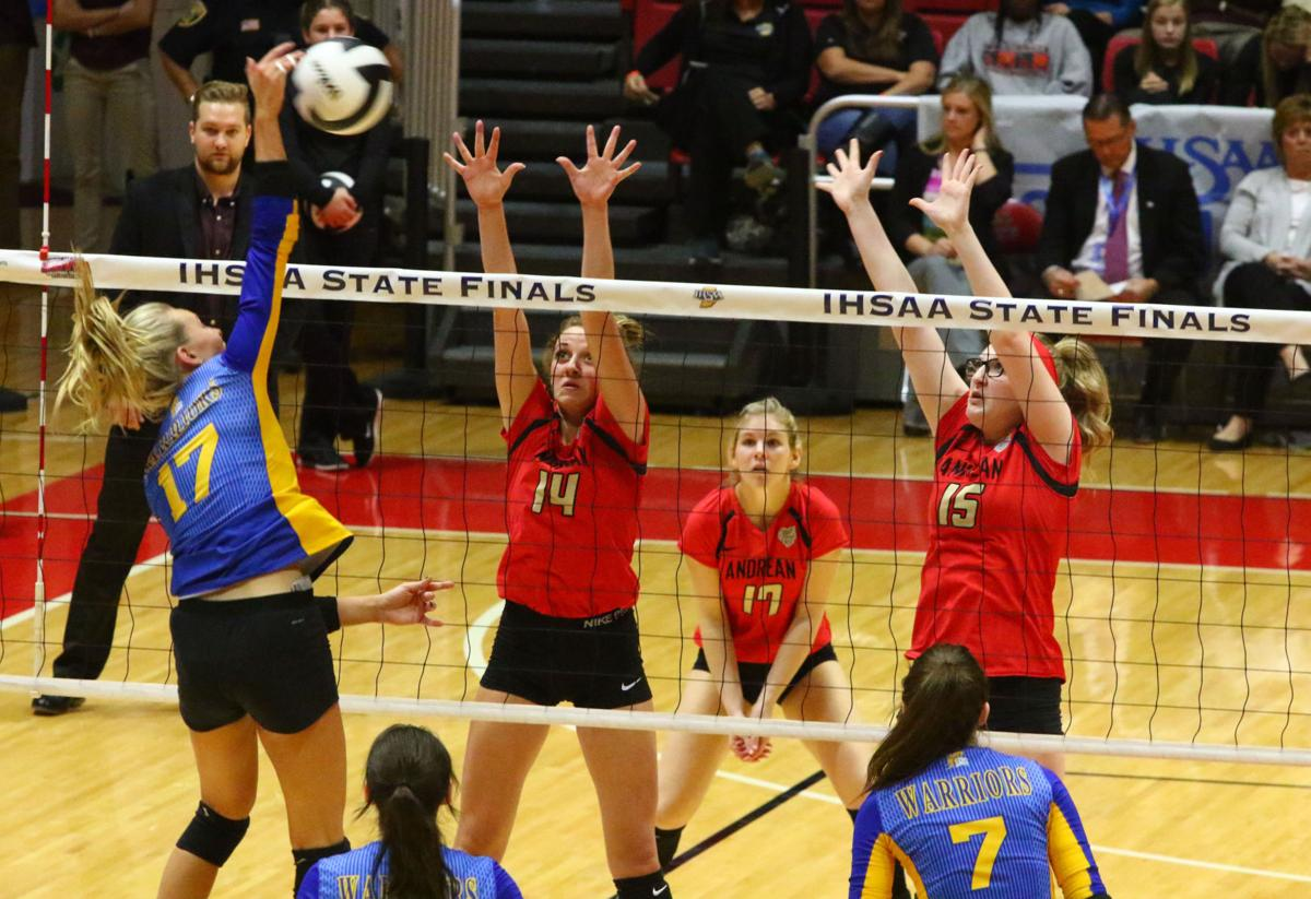 Volleyball Class 2A State Finals - Andrean vs. Christian Academy of Indiana