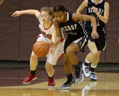 girls basketball: Bishop Noll/Edison
