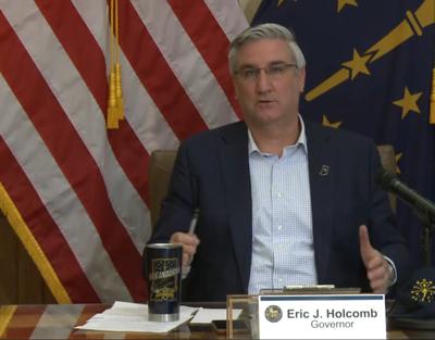 Holcomb reducing COVID-19 briefings to three each week