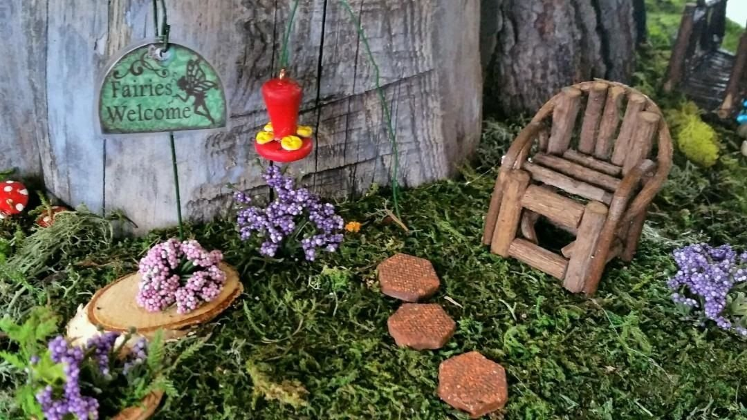 Fairy House Garden Exhibit