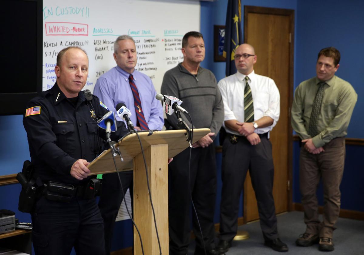 Arrest of Kevin Campbell
