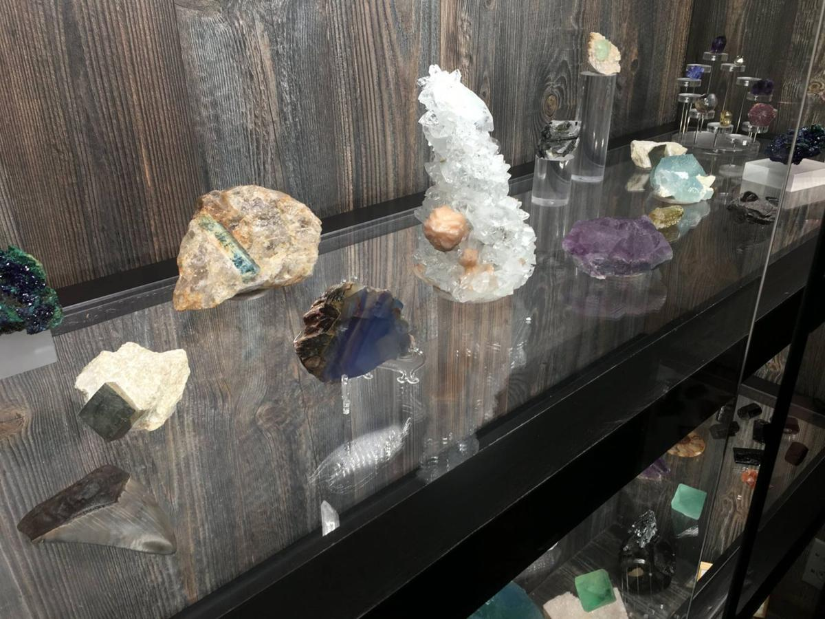 Moriarty's Gem Art expands into minerals and crystals