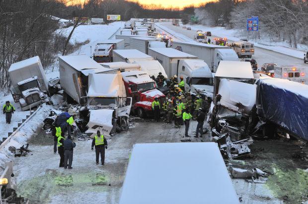 3 dead in multivehicle crash on I-94 near Michigan City
