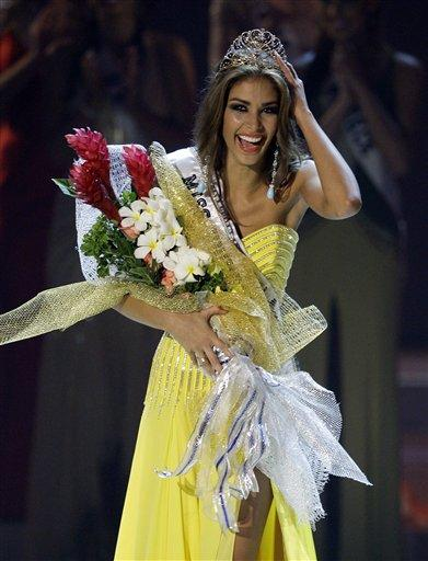 Miss Venezuela takes 2008 Miss Universe crown | Sports | nwitimes.com