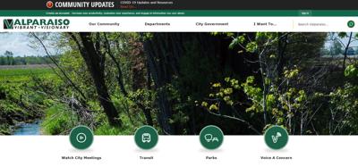 Valparaiso unveils new website