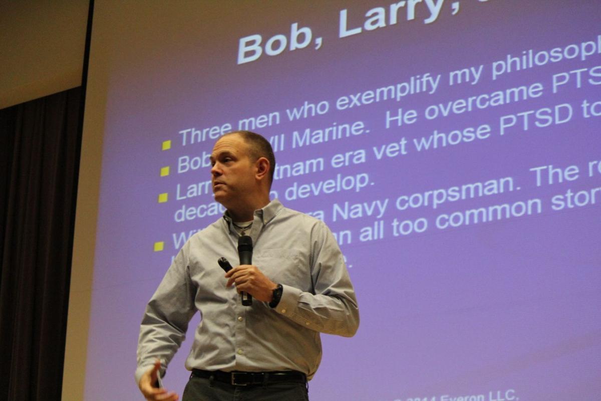 LaPorte-raised Marine veteran delivers powerful story on impact of PTSD