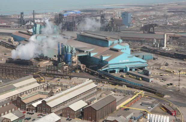 U.S. Steel lays off 25 percent of salaried employees