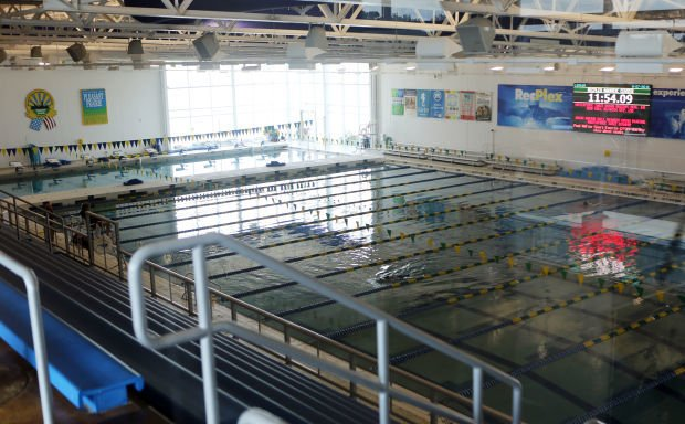 Swimming pool at the RecPlex in Pleasant Prairie