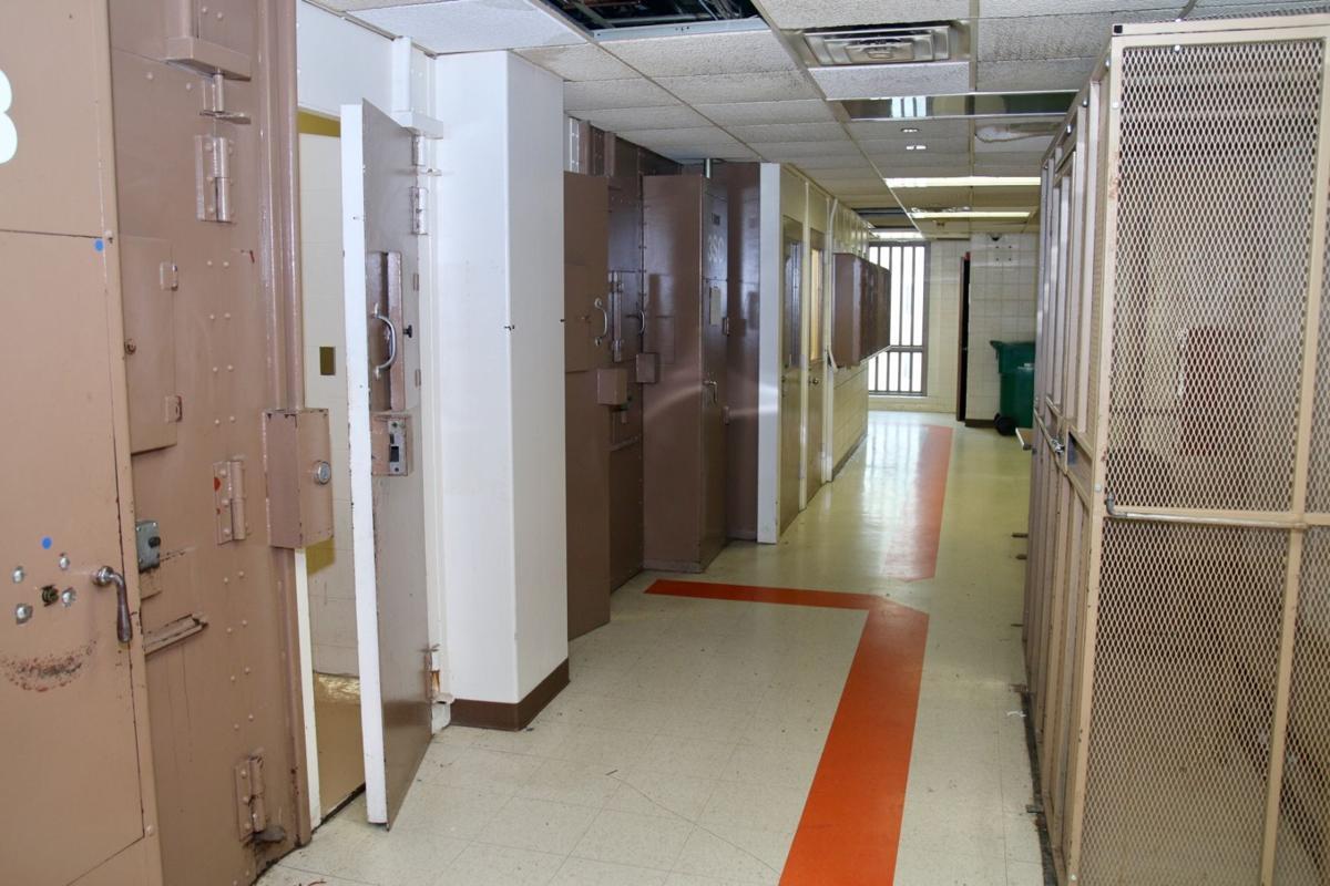 Lake County Jail cells