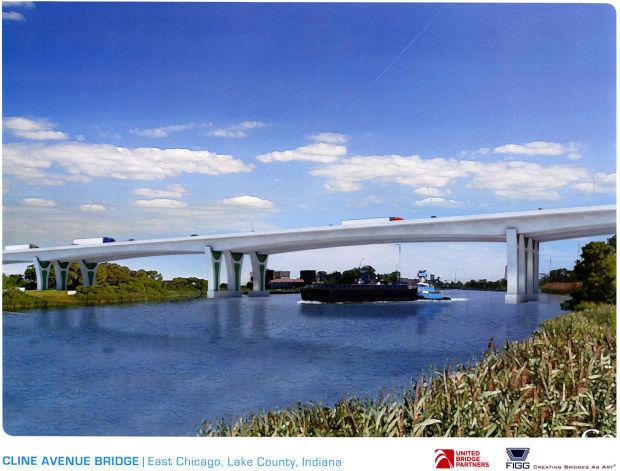 Cline Avenue Bridge rendering