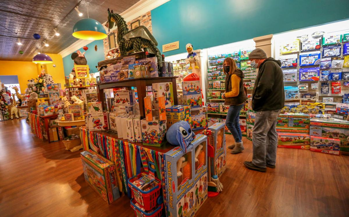 Toys in the Attic toy store, Valpo