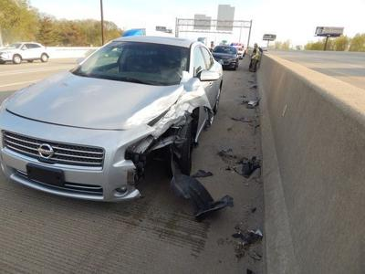 Three times the legal limit, man flees interstate crash scene