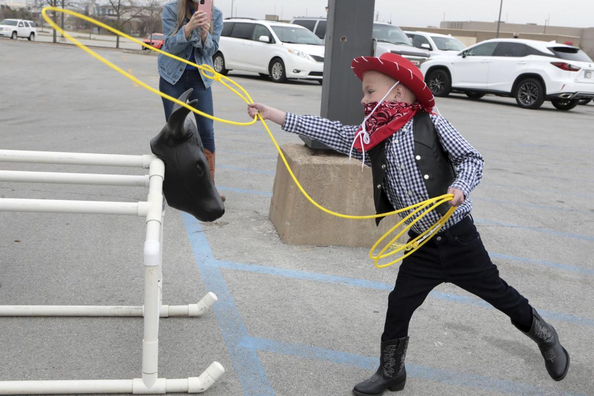 Macy's at Southlake Mall grants Make-A-Wish dream to be a cowboy