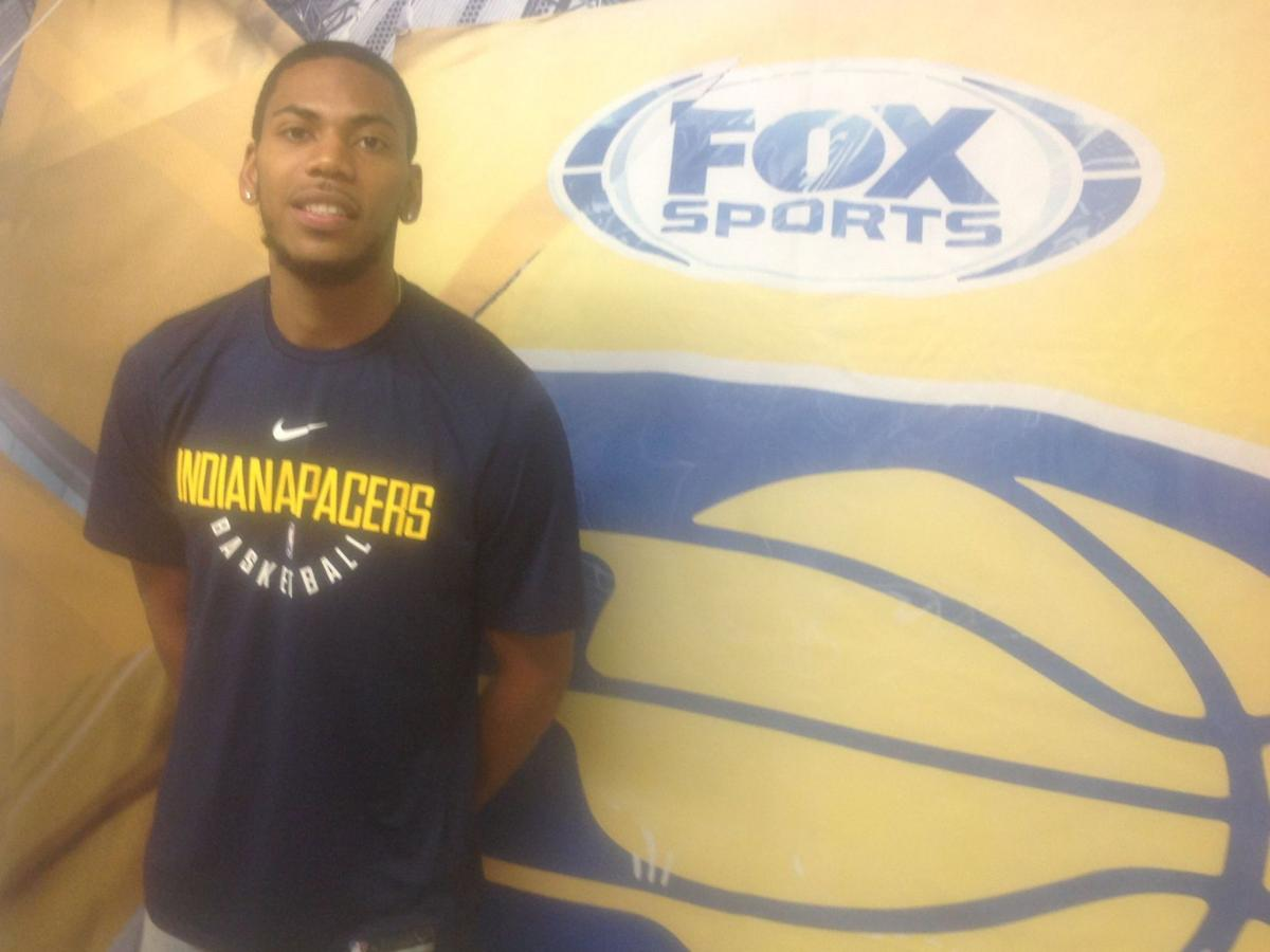 Pacers' guard/forward Glenn Robinson III