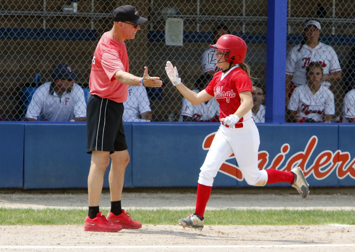4A softball semistate: Crown Point vs. Fishers (COY)