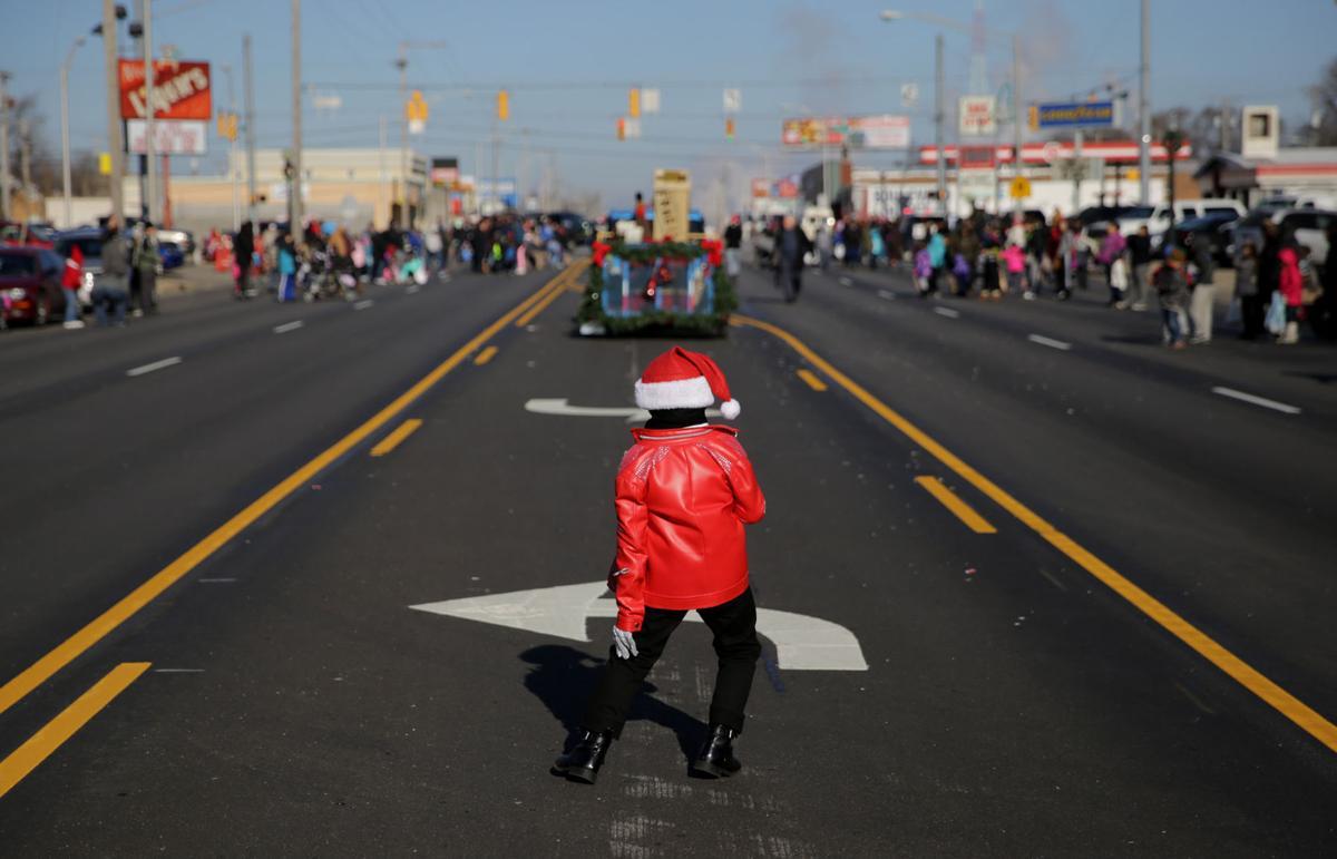 Hammond's holiday parade