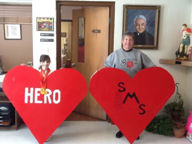 St. Michael students go red for heart campaign