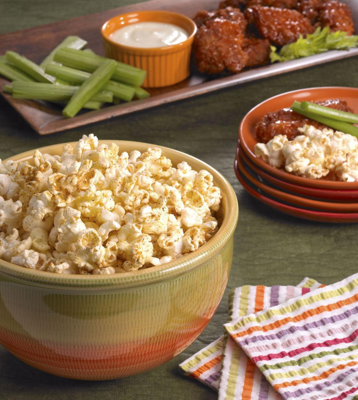 Blazing Buffalo Ranch Popcorn