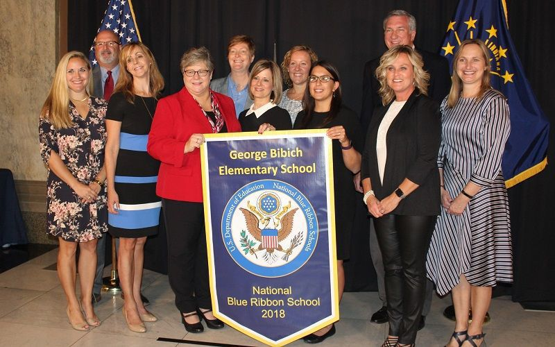 Dedication to excellence helps George Bibich snag Blue Ribbon Award