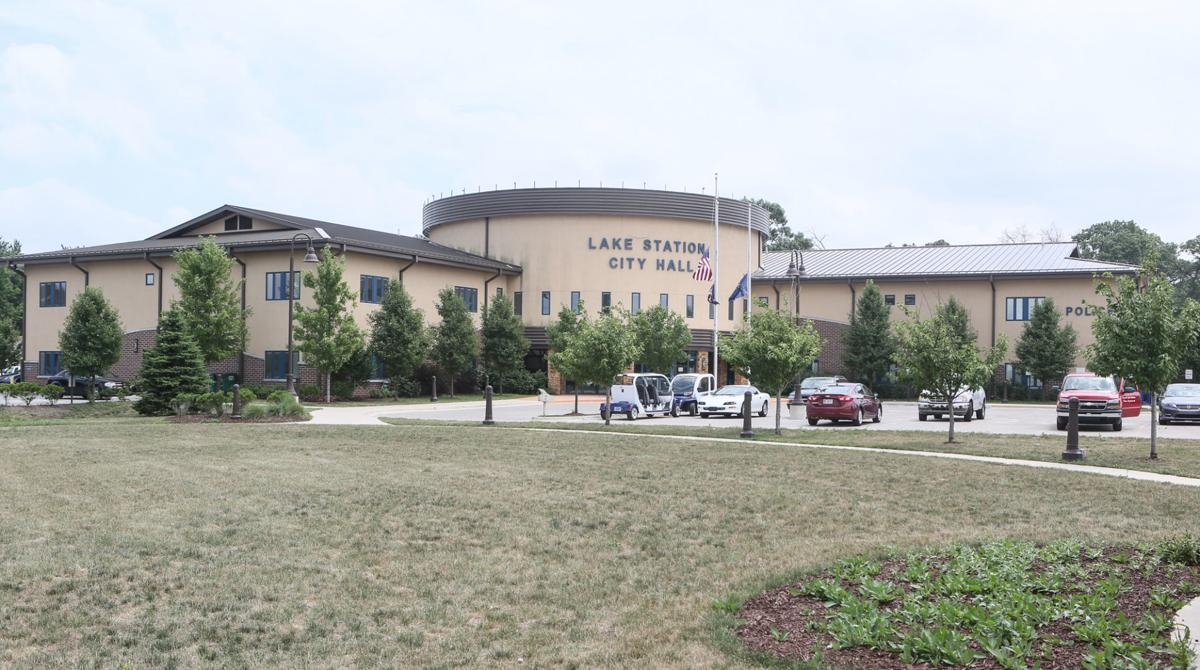STOCK_Lake Station City Hall