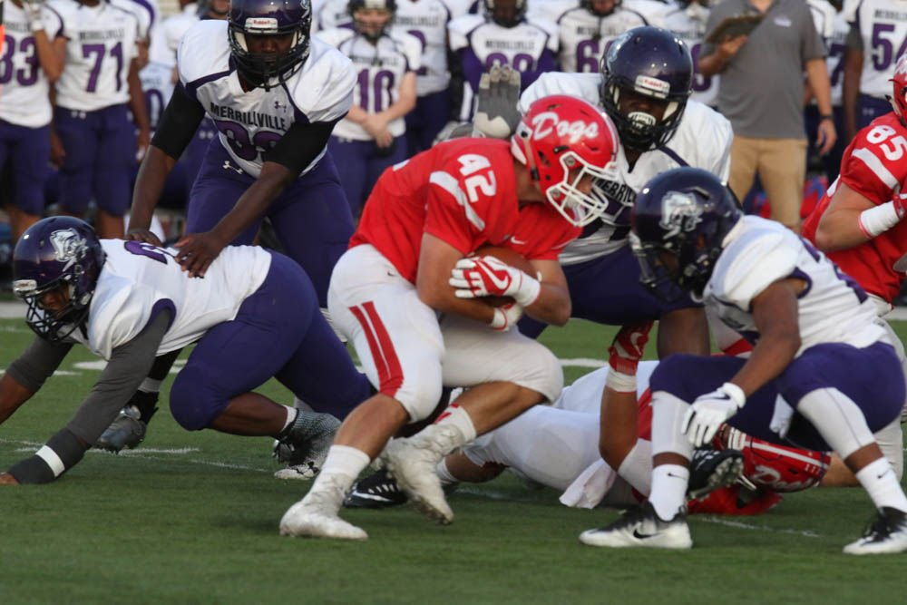 Gallery: Prep football - Merrillville at Crown Point