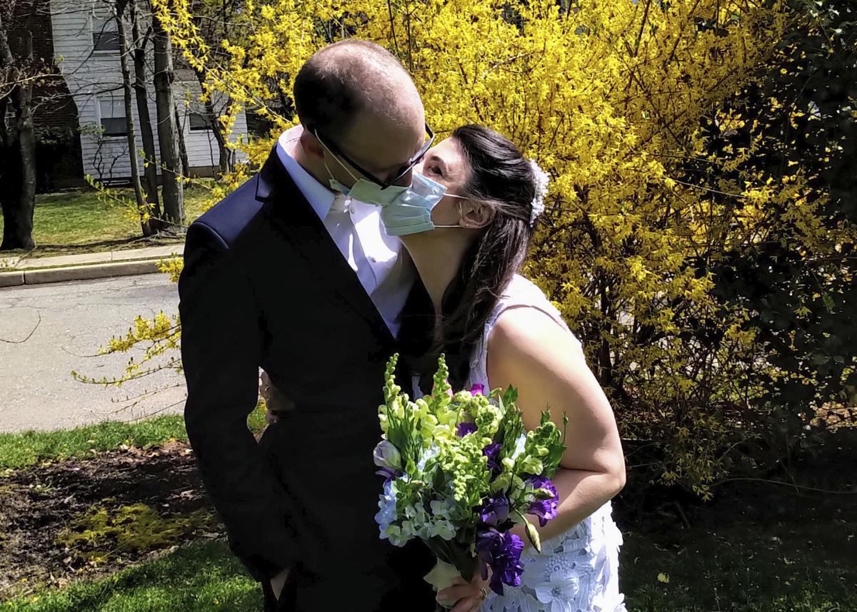 Virus Outbreak One Good Thing Lawn Weddings