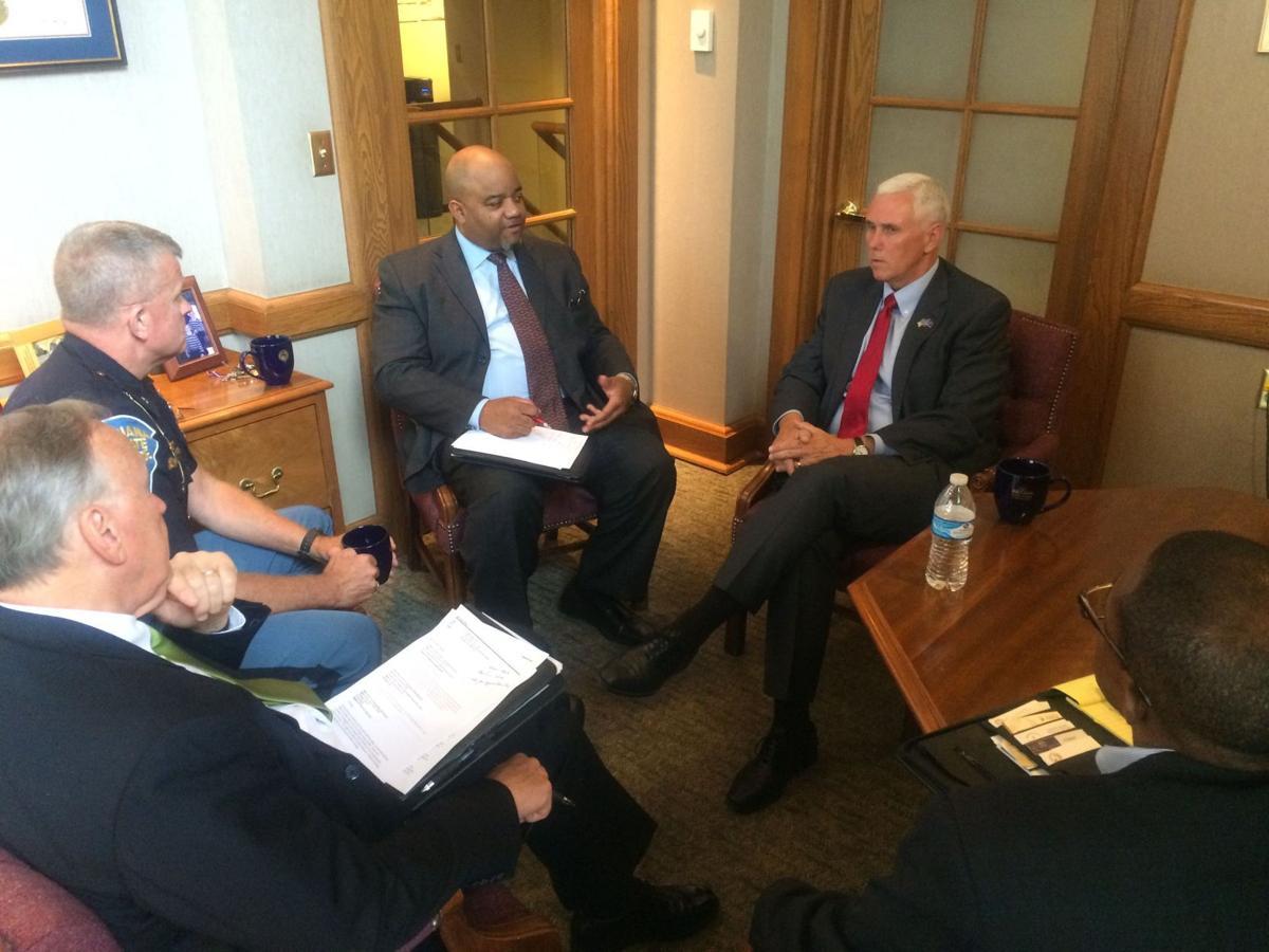 Pence meeting