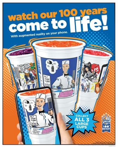 White Castle debuts augmented reality cups to celebrate 100th anniversary