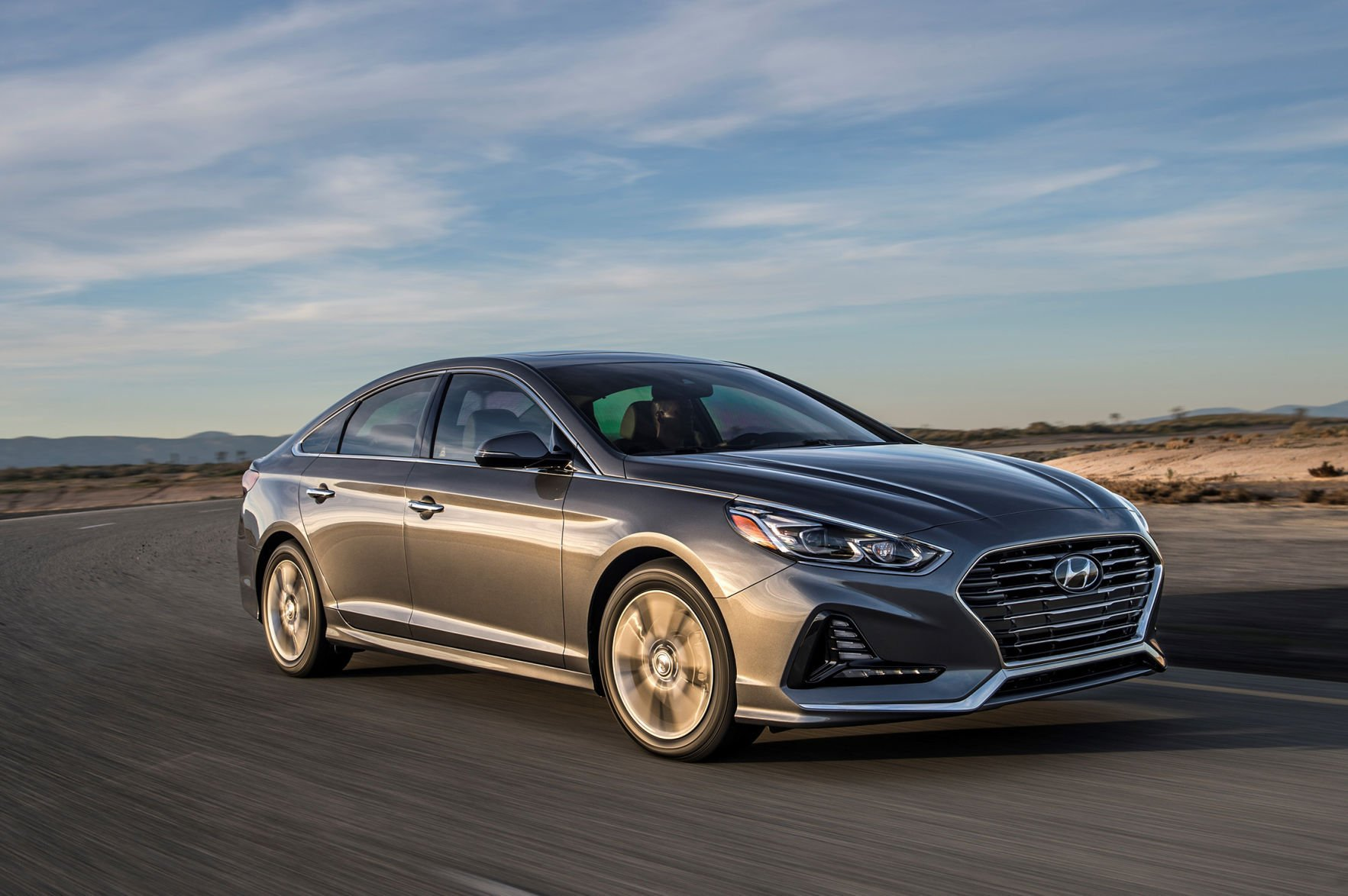 The Hyundai Sonata Gets A Dramatic Visual Makeover For 2018 That Makes It  Look Bold And Aggressive Once Again. Itu0027s The Most Distinctive Look For  This Car ...