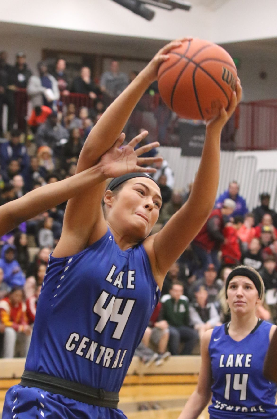 Girls basketball, Lowell Sectional: Lake Central vs West Side